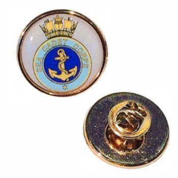 23mm premium gold badge